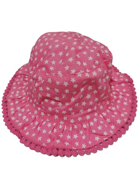Chicco Bebe Καπέλο Διπλής Όψεως Για Κορίτσι Αστέρια, Ροζ