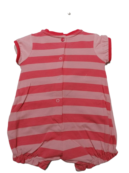 Chicco Κοντό Φορμάκι Για Νεογέννητο Κορίτσι Με Δεινόσαυρος, Ροζ