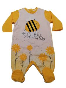 Chicco Εποχιακό Φορμάκι Για Νεογέννητο Κορίτσι Μέλισσες, Κίτρινο