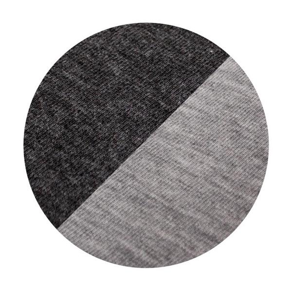 Ceba Baby Σεντόνι Καλαθούνας με Λάστιχο Dark Grey/Light Grey 2τμχ