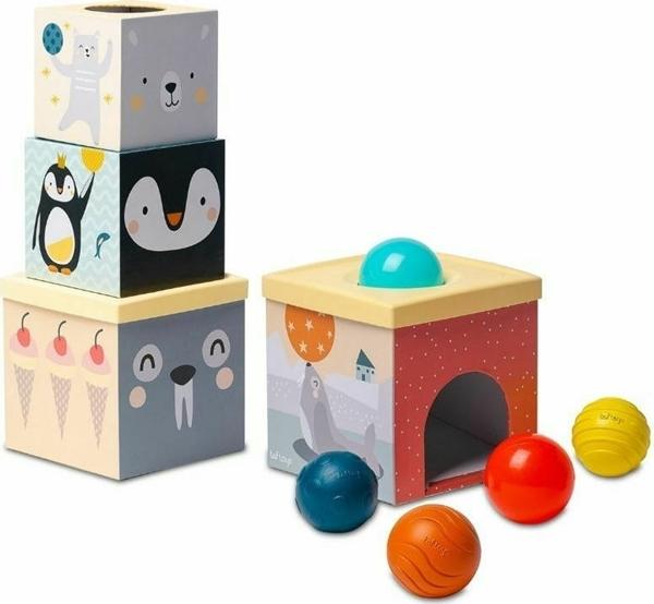 Taf Toys Εκπαιδευτικό Παιχνίδι North Pole Ball Drop Stacker