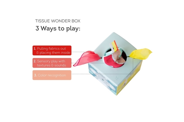 Taf Toys Εκπαιδευτικό Παιχνίδι Wonder Tissue Box Kimmy Koala