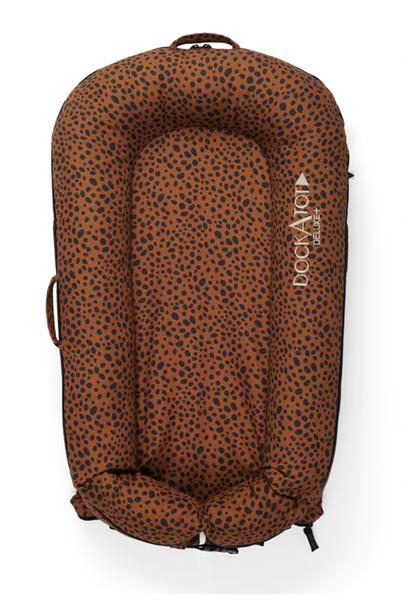 Dockatot Βρεφική Φωλιά Deluxe Bronzed Cheetah