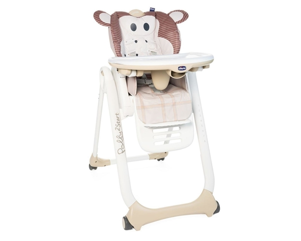 Chicco Κάθισμα Φαγητού Polly 2 Start, Monkey