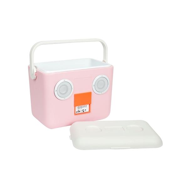 SunnyLife Cooler Box με Ηχεία, Pink