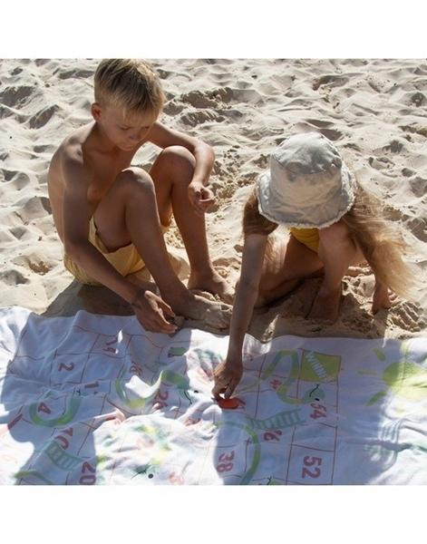 SunnyLife Πετσέτα Παραλίας Games Surfing Dino
