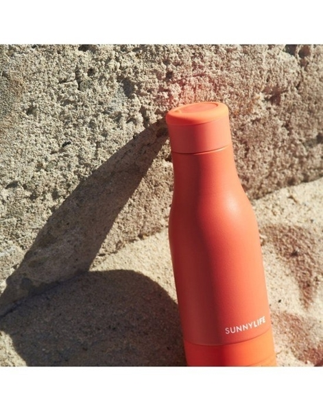 SunnyLife Μπουκάλι Νερού 360ml με Ηχείο Coral
