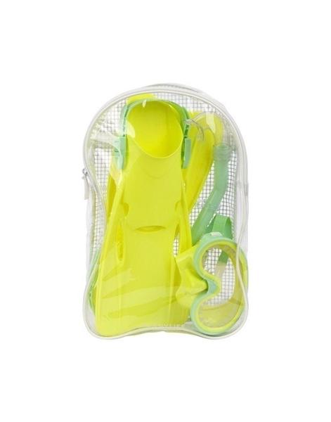 SunnyLife Παιδικό Σετ Κατάδυσης 4Τμχ Lime
