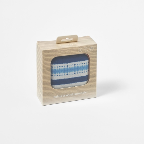 SunnyLife Ηχείο Ταξιδιού Mini με Bluetooth, Nouveau Bleu Indigo