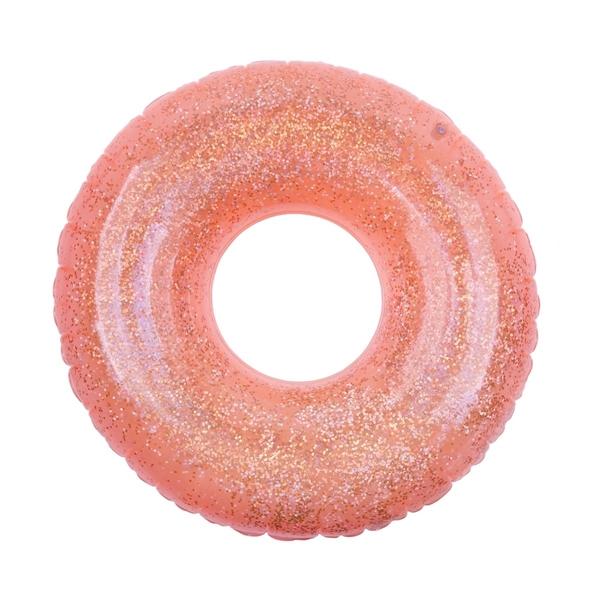 SunnyLife Φουσκωτή Σαμπρέλα Glitter Neon Coral