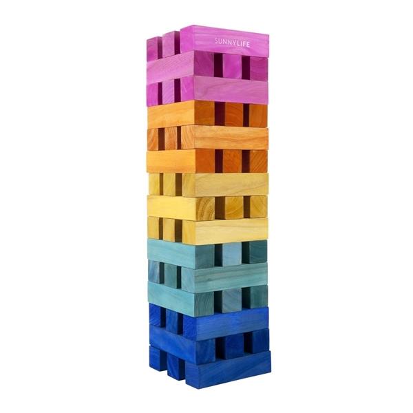 SunnyLife Ξύλινο Παιχνίδι Πύργος Mega Jumbling Tower Multi