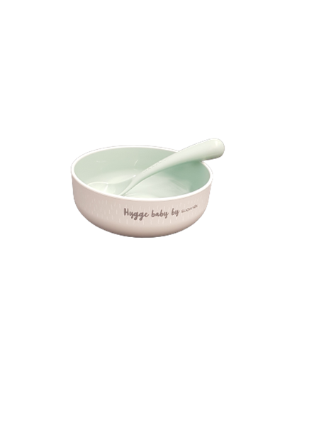 Suavinex Παιδικό Σετ Φαγητού Feeding Set Boy Mint 6m+
