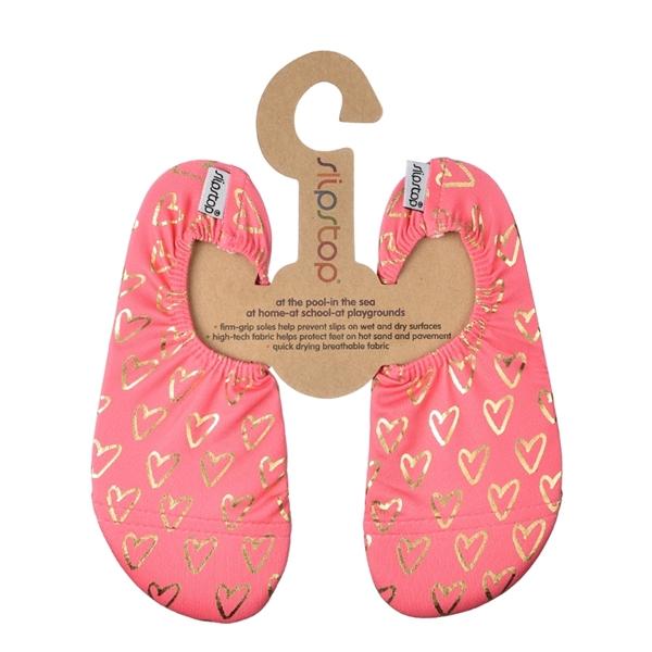 Slipstop Αντιολισθητικές Παντόφλες Golden Hearts