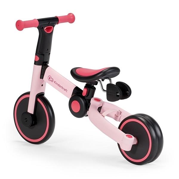 Kinderkraft Πτυσόμενο Τρίκυκλο Ποδήλατο 4Trike, Candy Pink