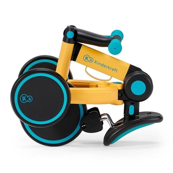 Kinderkraft Πτυσόμενο Τρίκυκλο Ποδήλατο 4Trike, Primrose Yellow