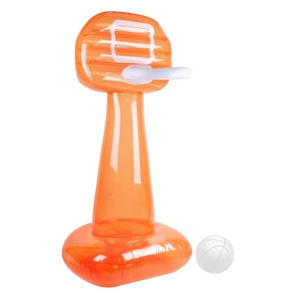 SunnyLife Φουσκωτό Παιχνίδι Μπασκέτα Mega Basketball Set Neon