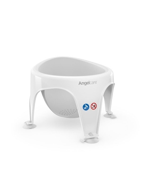 AngelCare Βρεφικό Kάθισμα Μπάνιου Light Grey