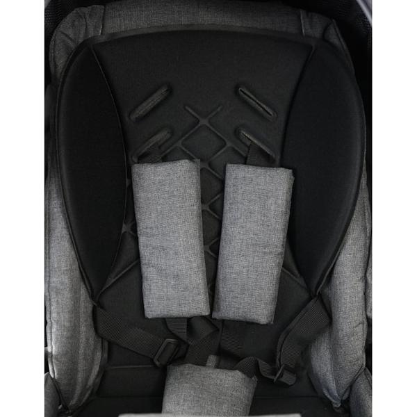 Picture of Bexa Καρότσι 2 σε 1 Line 2.0 Eco Leather - Ice Grey