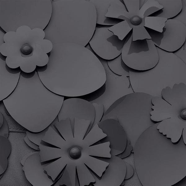 Picture of Cybex Platinum Footmuff Ποδόσακος καροτσιού Simply Flowers Dream Grey