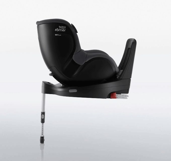 Britax Romer Παιδικό Κάθισμα Αυτοκινήτου Dualfix i-Sense με Βάση Flex Base I-Sense, Space Black