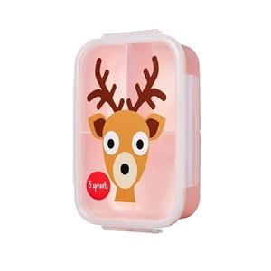 3 Sprouts Φαγητοδοχείο Lunch Bento Box, Deer