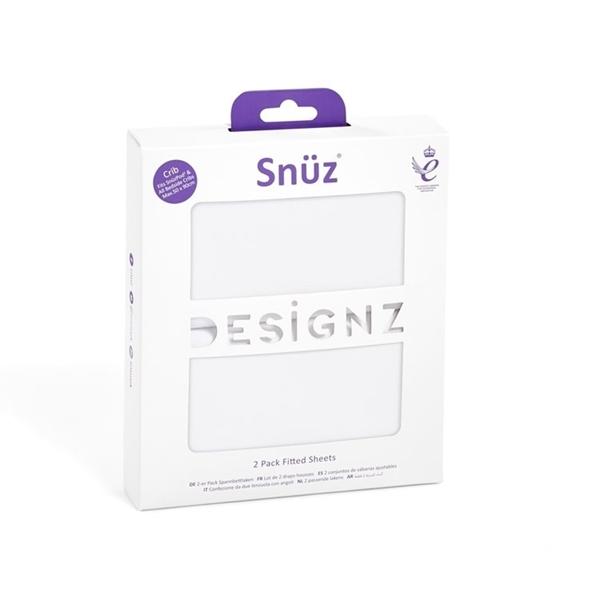 Snuz Σετ Σεντόνια Λευκά για Λίκνο SnuzPod4