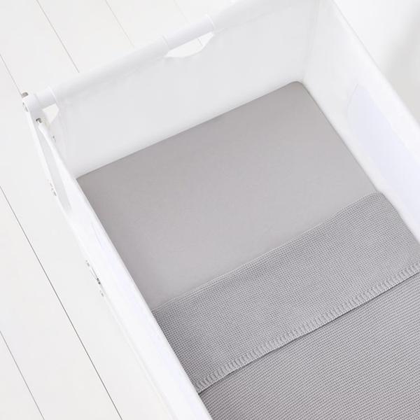 Snuz Σετ Σεντόνια Γκρι για Λίκνο SnuzPod4