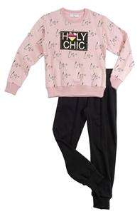 Funky Σετ Φόρμας Για Κορίτσι Holy Chic, Ροζ
