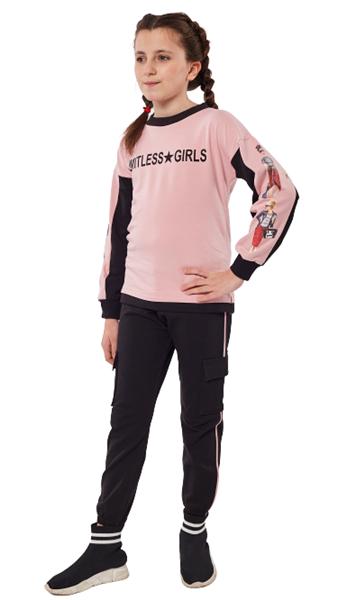 Εβίτα Fashion Σετ Φόρμας Με Κολάν Limitless, Ροζ
