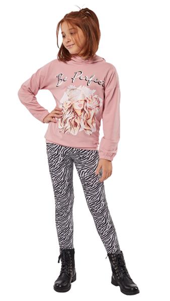 Εβίτα Fashion Σετ Κολάν Be Perfect, Ροζ