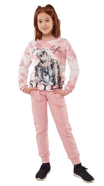 Εβίτα Fashion Σετ Φόρμας Your Life, Ροζ