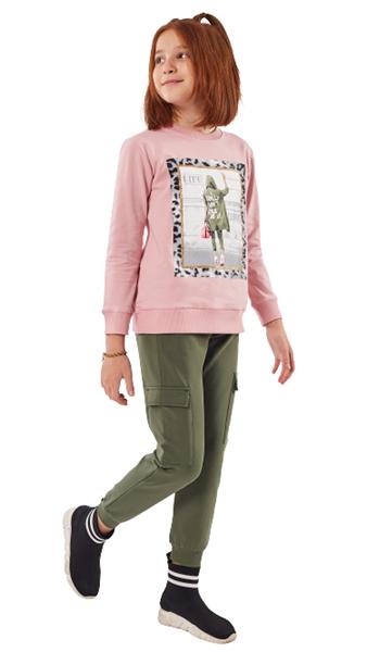 Εβίτα Fashion Σετ Φόρμας Life , Ροζ