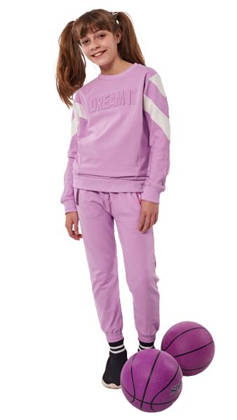 Εβίτα Fashion Σετ Φόρμας Dream It, Λιλά