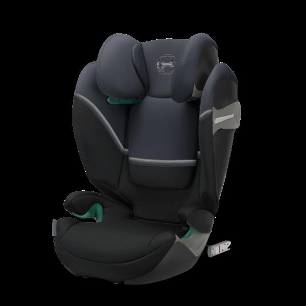 Cybex Παιδικό Κάθισμα Solution S2 i-Fix, 15-36 kg. Granite Black