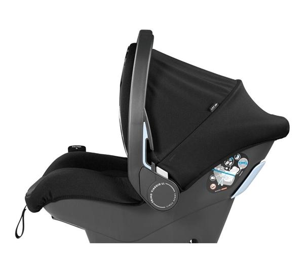 Peg Perego Car Seat Primo Viaggio SL 0-13kg. Black Shine