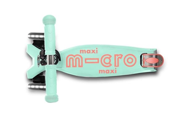 Micro Maxi Deluxe LED - Παιδικό Πατίνι Mint