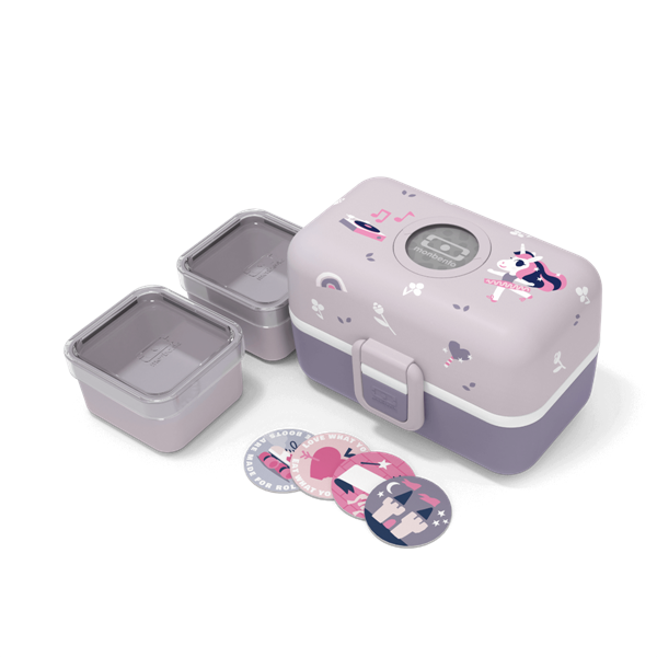 Monbento Φαγητοδοχείο LunchBox Tresor - Purple Unicorn