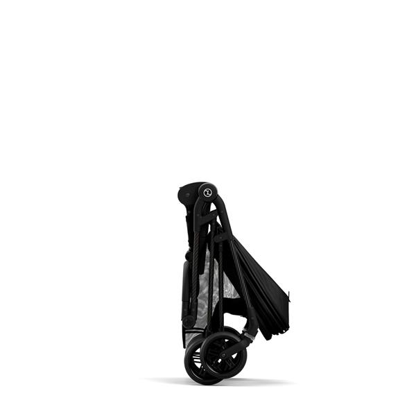 Cybex Καρότσι Melio Carbon B, Deep Black