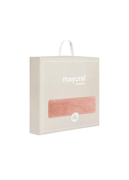 Mayoral Κουβέρτα Με Γουνάκι Διπλής Όψεως, Ροζ