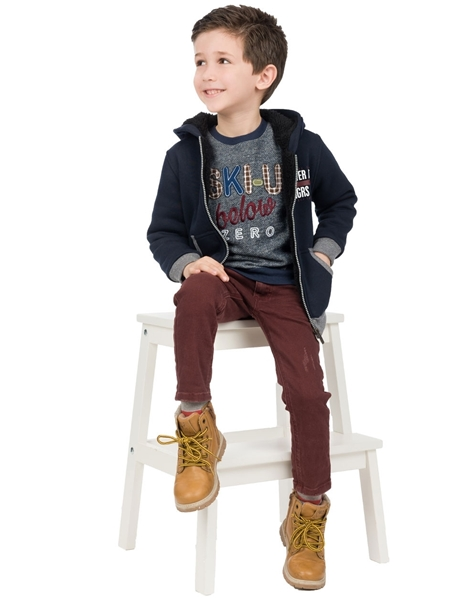 Energiers Παιδική Μπλούζα Φούτερ Για Αγόρι, Μπλέ