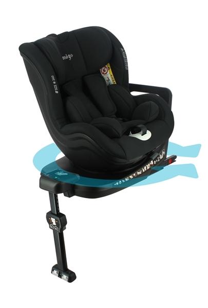 Migo Καθισματάκι Αυτοκινήτου Onyx i-Size 360° Black