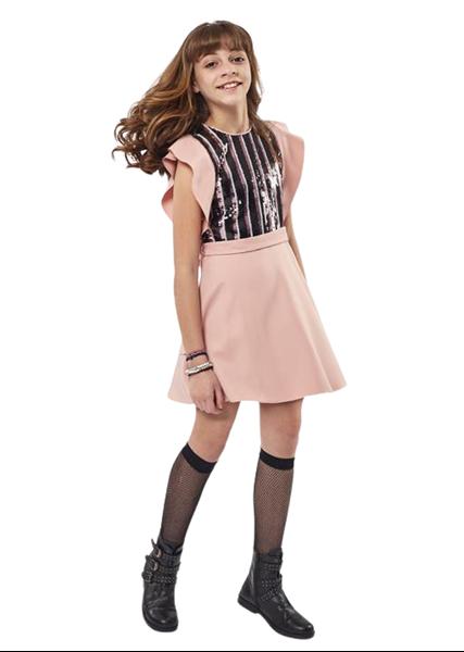 Εβίτα Fashion Φόρεμα Με Παγιέτες, Πούδρα