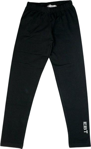 Εβίτα Fashion Βαμβακερό Κολάν Κορίτσι, Μαύρο