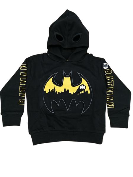 Zippy Φούτερ Για Αγόρι, Batman, Μαύρη