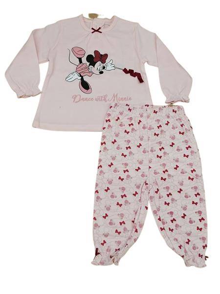 Zippy Bebe Πυτζάμα Για Κορίτσι Minnie ,Ροζ