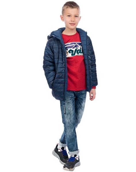 Energiers Παντελόνι Τζην Ελαστικό Με Ξεβάματα Για Αγόρι, Μπλέ
