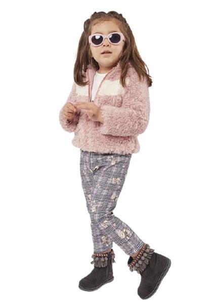Εβίτα Fashion Bebe Σετ 3 Τμχ Με Ζακέτα Αρκουδάκια, Ροζ