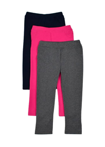 Εβίτα Fashion Παιδικό Παντελόνι Κολάν Για Κορίτσι, Φούξια