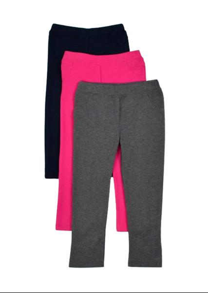 Εβίτα Fashion Παιδικό Παντελόνι Κολάν Για Κορίτσι, Μπλε