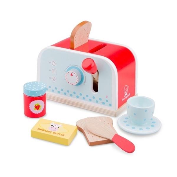 New Classic Toys Ξύλινη Φρυγανιέρα Κόκκινη